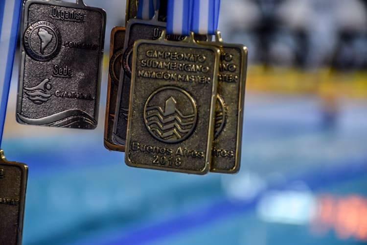 Récords argentinos de la quinta jornada en el Sudamericano Master Argentina 2018