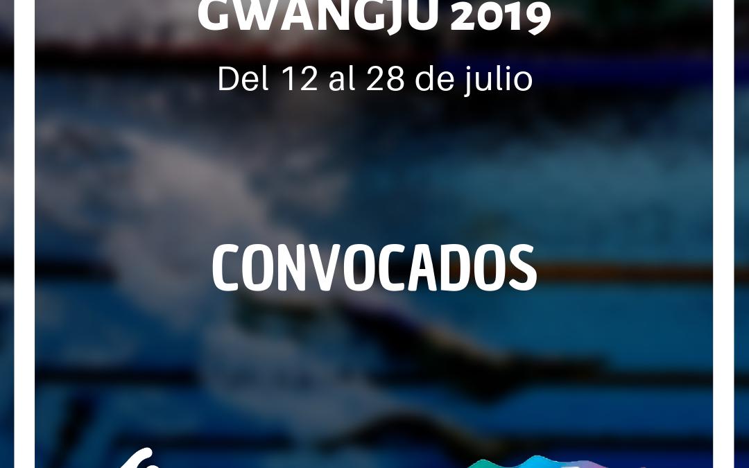 CONVOCADOS AL MUNDIAL DE COREA 2019