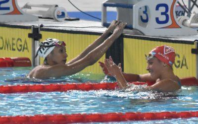 Delfina Pignatiello volvió a hacer la marca A para Tokio 2020 en el Campeonato Argentino Open de natación y Morelli, récord argentino