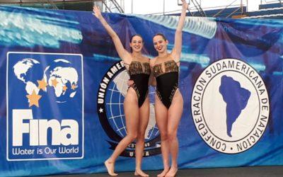 Tres medallas en el Sudamericano de Deportes Acuáticos y clasificación para los Juegos Panamericanos de Lima