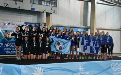 Federación Rosario de Natación campeón del Argentina Open y del Interderativo