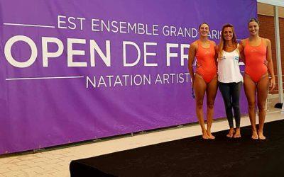 Natación Artística: Camila Arregui y Trinidad López Brasesco competirán en el French Open