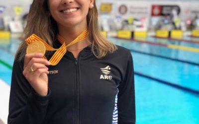 Dos medallas para Delfina Pignatiello en Barcelona y gran actuación de la Selección Argentina de Natación
