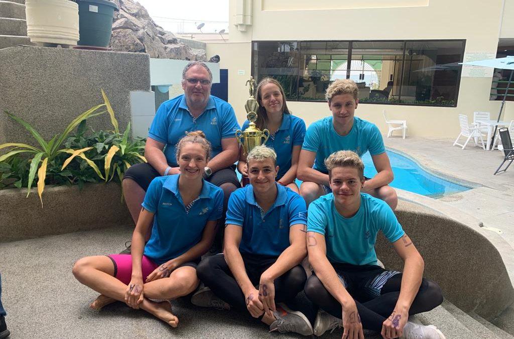 Gran actuación de la selección juvenil de Aguas Abiertas en Ecuador