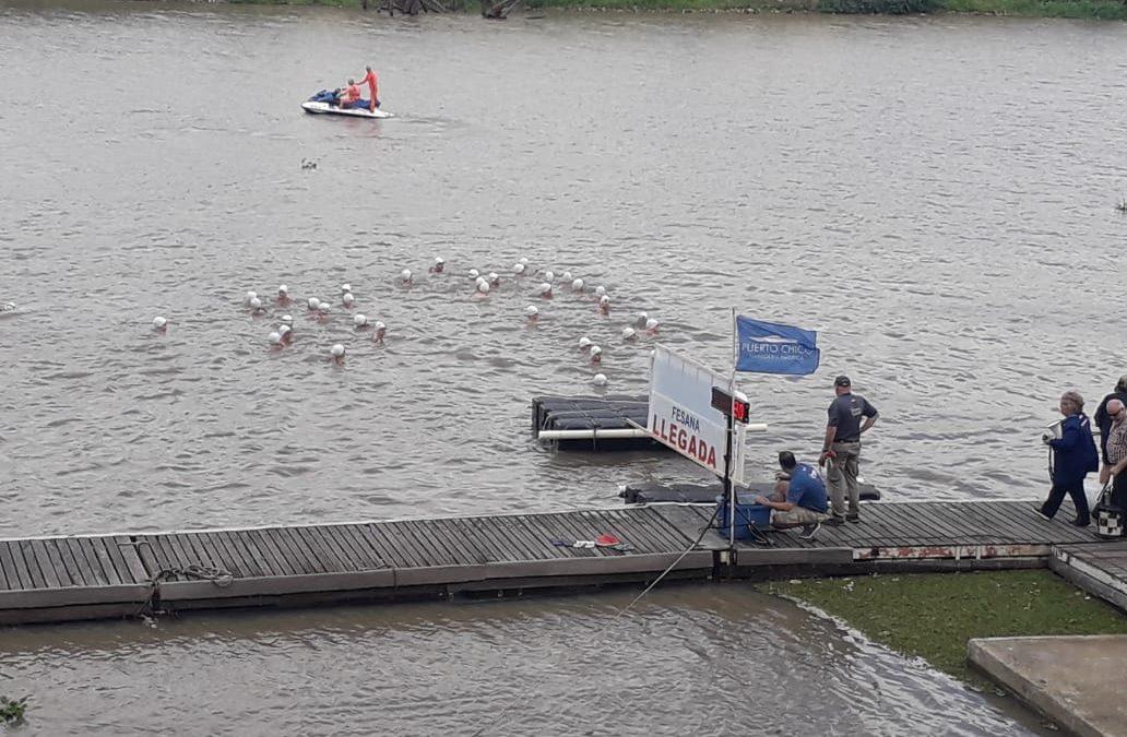 Se disputó el primer Interfederativo de Aguas Abiertas