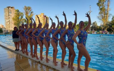 La selección nacional de natación artística se concentra en Rosario