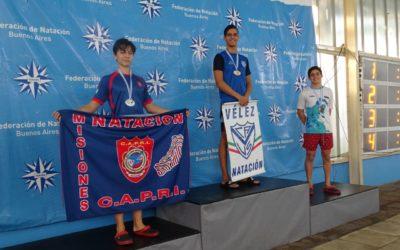 Podios de la tercera jornada del Campeonato República de Juveniles y Juniors de Natación