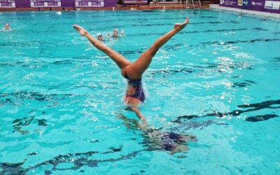 Participación argentina en el French Open de natación artística