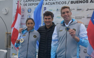 10k aguas abiertas Campeonato Sudamericano de Deportes Acuáticos