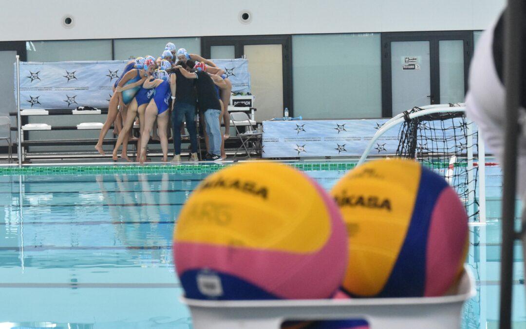 Semifinales y definición de 5º y 6º puesto de polo acuático femenino del Sudamericano De Deportes Acuáticos.