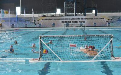 Semifinales de polo acuático del Sudamericano De Deportes Acuáticos.