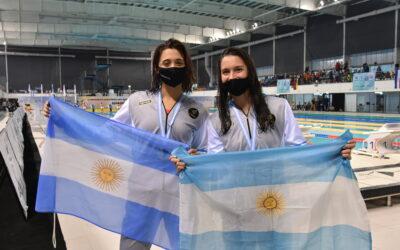 Todos los podios de Natación Jornada 1 – Sudamericano de Deportes Acuáticos