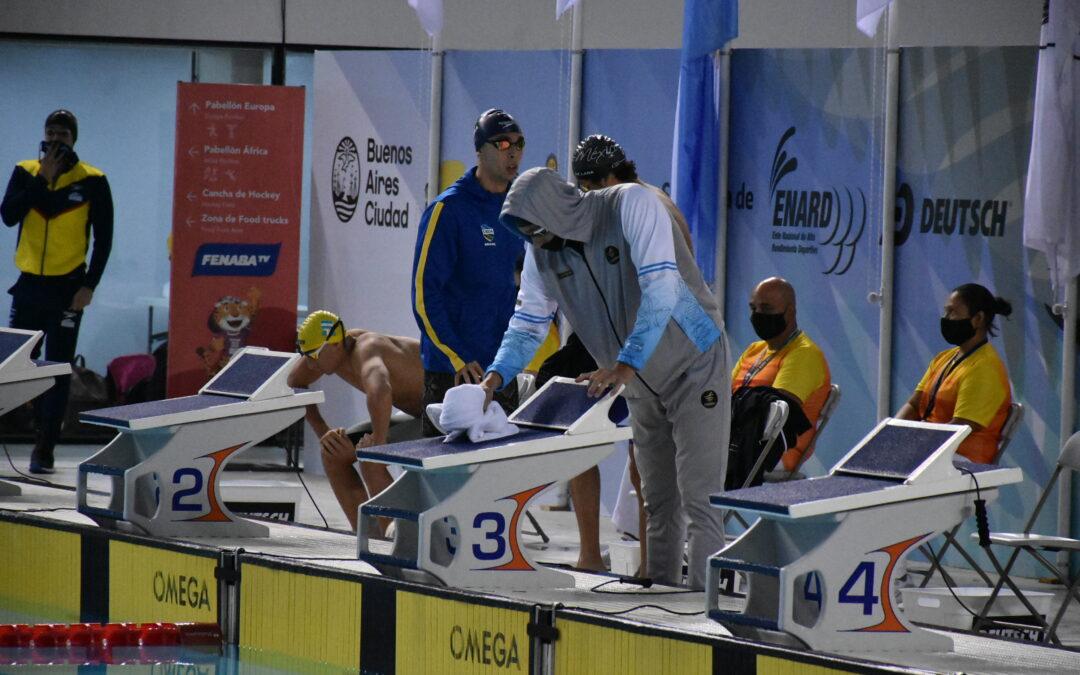 Finales Jornada 2 de Natación en el Sudamericano de Deportes Acuáticos Buenos Aires 2021