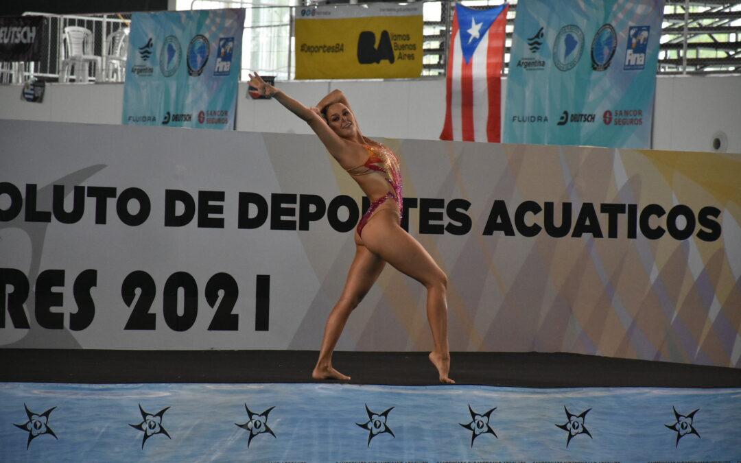 JORNADA 3 DE NATACIÓN ARTÍSTICA SOLOS LIBRES DEL  SUDAMERICANO DE DEPORTES ACUÁTICOS 2021