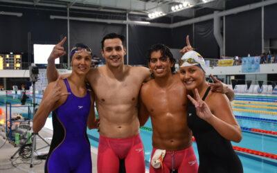 Jornada 4 de Natación en el Sudamericano de Deportes Acuáticos Buenos Aires 2021