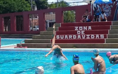 Se designó la selección de natación artística para el Sudamericano 2021
