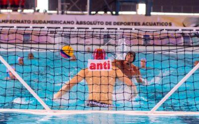 Fecha 4 de polo acuático masculino del Sudamericano De Deportes Acuáticos.