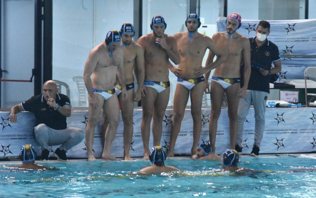 Fecha 7 de polo acuático masculino del Sudamericano De Deportes Acuáticos.