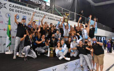 ARGENTINA SE CONSAGRÓ CAMPEONA SUDAMERICANA EN NATACIÓN