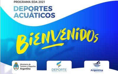 SE PRESENTÓ EL PROGRAMA EDA PARA DEPORTES ACUÁTICOS